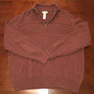 Dockers Quarter Zip Sweater
